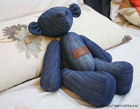 Шьем медведя из старых джинсов (5) (464x359, 64Kb)