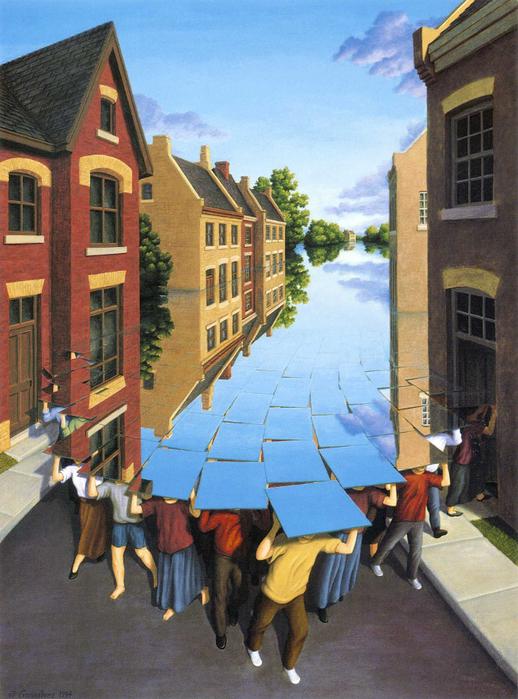 оптические иллюзии художник Роб Гонсалвес картины 9 (518x700, 463Kb)