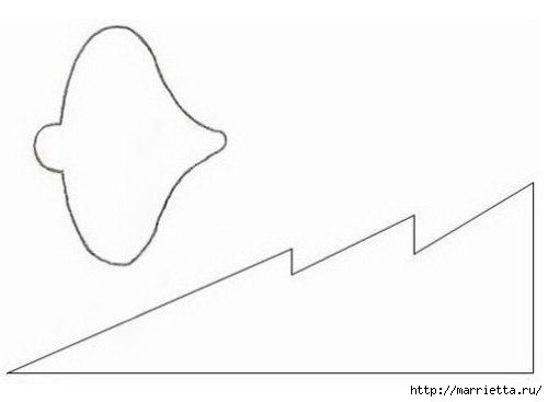 ЕЛОЧКА - новогодняя открытка своими руками (2) (500x367, 25Kb)