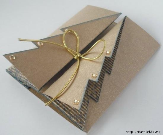 ЕЛОЧКА - новогодняя открытка своими руками (6) (550x456, 107Kb)