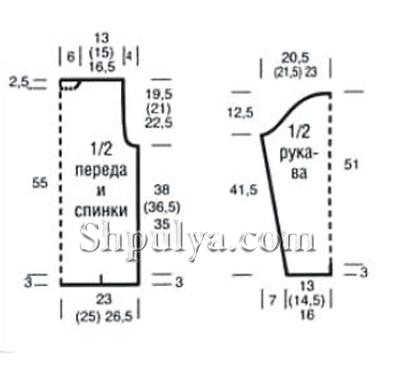 olivkovyi-sviter-s-kosami-vykroika-1 (400x365, 66Kb)