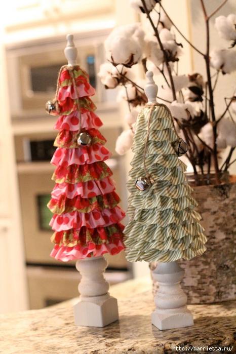 Текстильные новогодние елочки. Мастер-класс (7) (466x700, 268Kb)