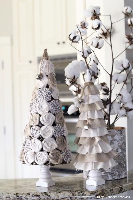 Текстильные новогодние елочки. Мастер-класс (16) (466x700, 237Kb)