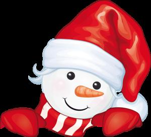 Снеговичок Дед Мороз. (300x272, 73Kb)