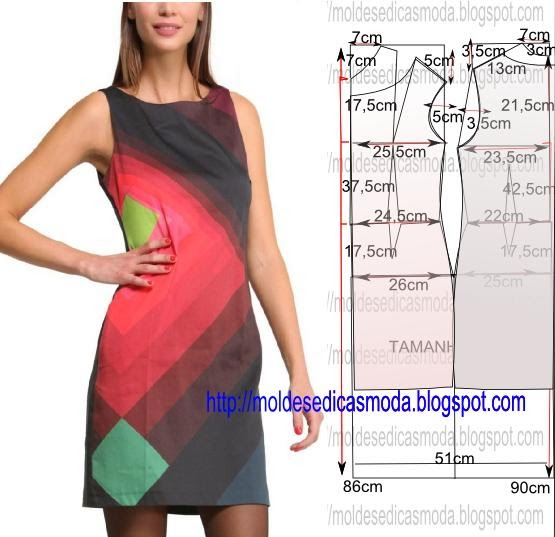 Шьем простое платье мк