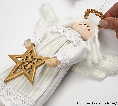 Рождественский ангел - текстильная подвеска для елочки (16) (483x435, 97Kb)