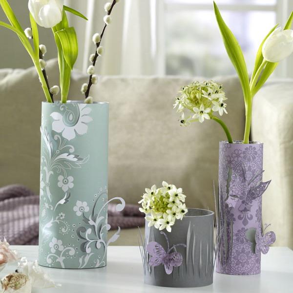 Цветы и вазы своими руками