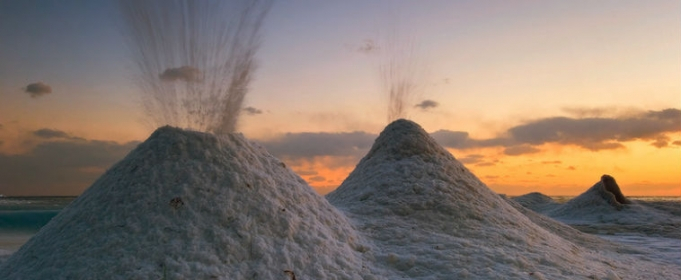великие озера ледяные вулканы фото 2 (681x280, 153Kb)