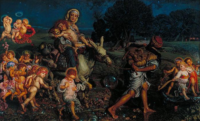 800px-William_Holman_Hunt_-_The_Triumph_of_the_Innocents_-_Google_Art_Project (700x424, 101Kb)