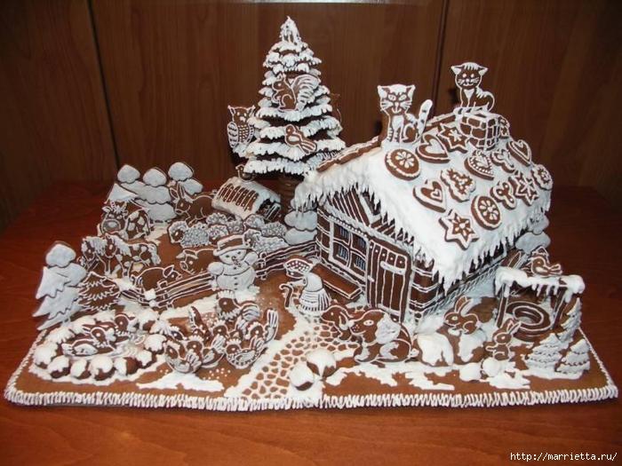 Navidad de fantasía con pan de jengibre (5) (700x525, 304KB)