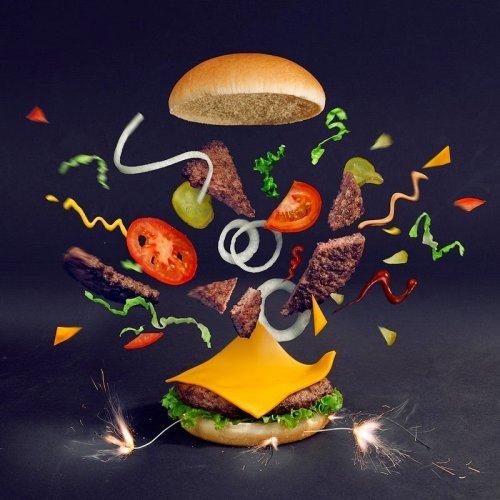 прикольные гамбургеры фото 1 (500x500, 182Kb)