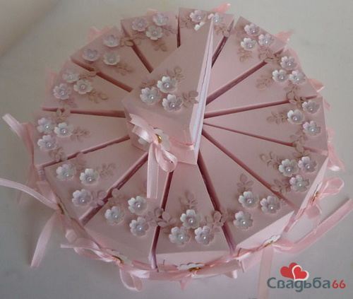 Как сделать бонбоньерку для торта