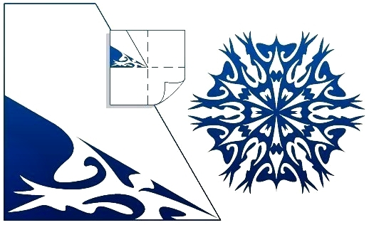 схема сложных снежинок4