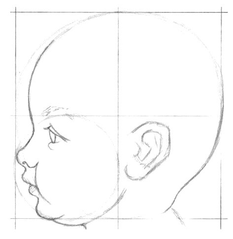 как нарисовать лицо ребенка4 (473x484, 53Kb)