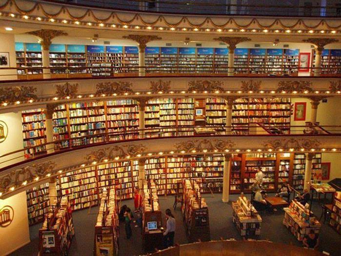 Как выглядит самый красивый книжный магазин