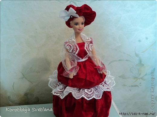 кукла шкатулка, как сделать куклу шкатулку,