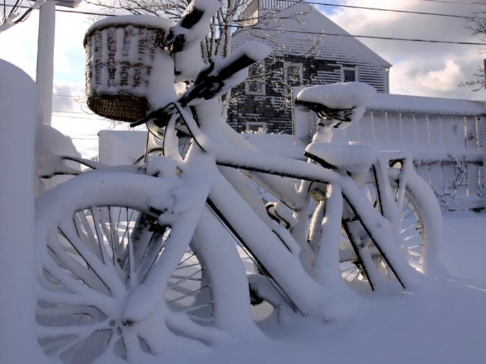 зима велосипед (700x525, 332Kb)