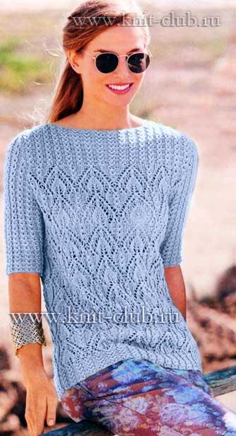 1369643733_azhurnyj-pulover-s-koketkoj-iz-kos (334x616, 39Kb)