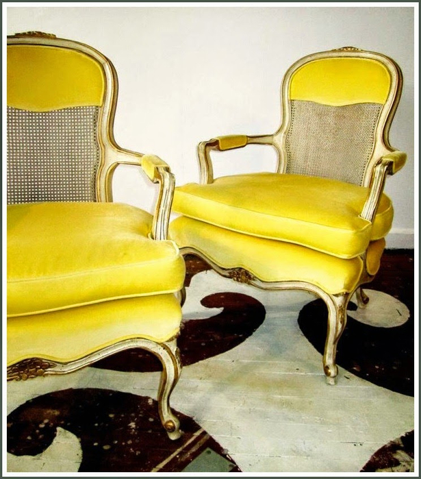 Yellow French Chairs (615x700, 424Kb)