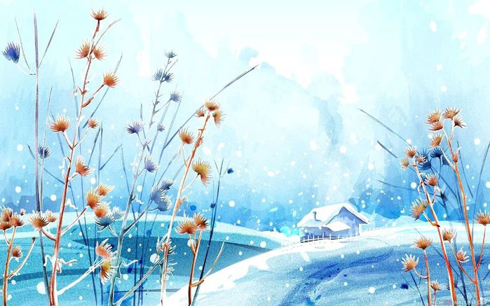 Beautiful-Winter-Day-Figure-Paint-HD (700x437, 65Kb)
