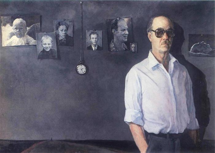 Петр Алексеевич Белов   Вся жизнь. Автопортрет (1987)  (700x499, 78Kb)