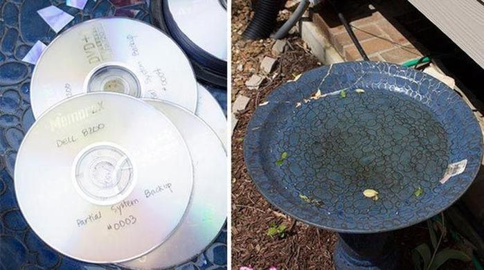 Прекрасные идеи того, что можно сделать из старых компакт-дисков (CD и DVD)