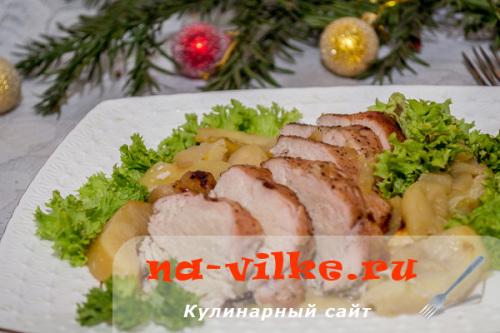 Праздничные рецепты из куриного филе