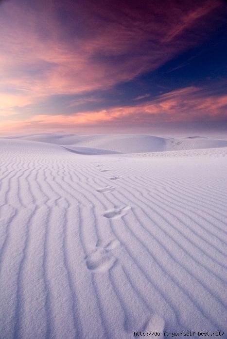 2-Фантастические пейзажи пустыни Белых Песков (467x700, 222Kb)