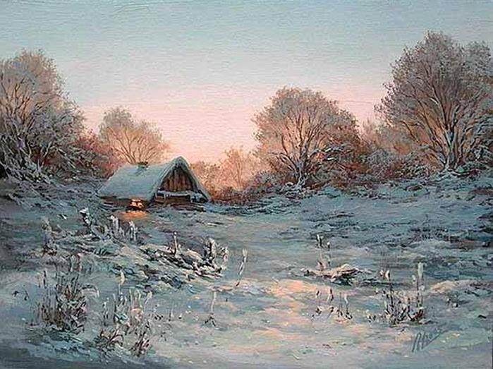Ivanenko Michail. Christmas. (700x523, 374Kb)