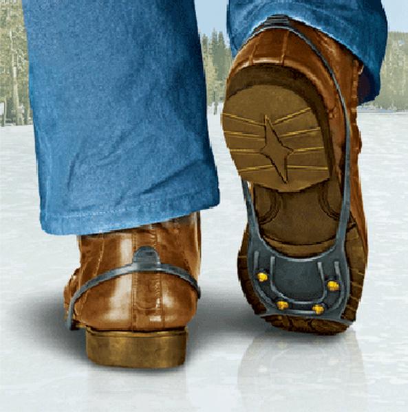 Противоскользящие накладки для обуви своими руками