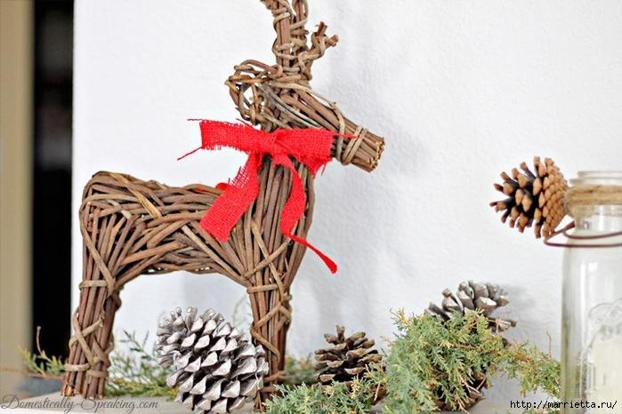 Рождественские ОЛЕНИ из пробок и веток (30) (700x466, 250Kb)