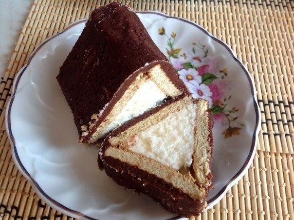 творожный десерт домик (604x451, 277Kb)