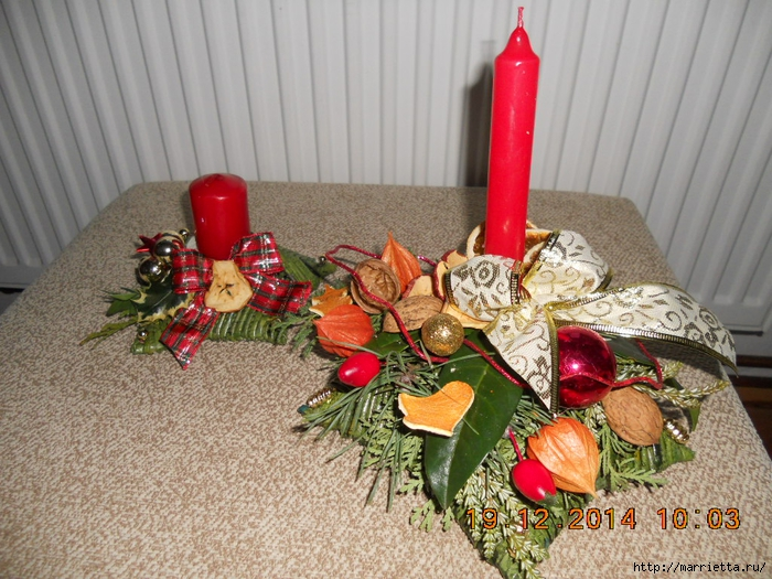 плетение из газет. рождественские идеи (47) (700x525, 338Kb)