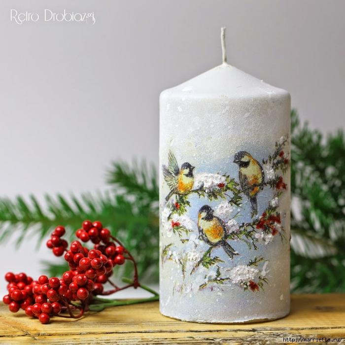 плетение из газет. рождественские идеи (65) (700x700, 292Kb)