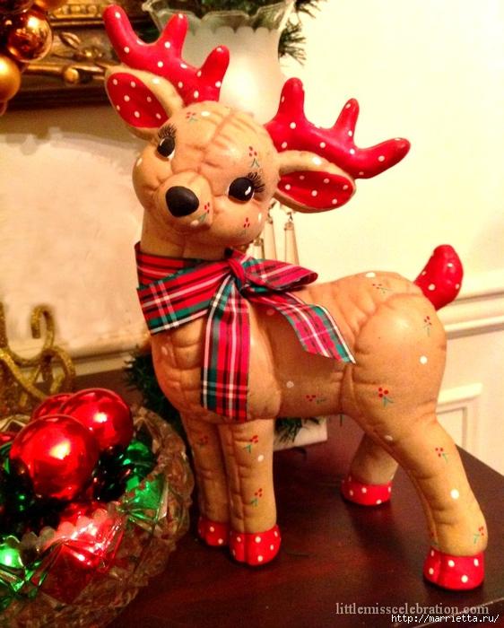 плетение из газет. рождественские идеи (74) (562x700, 302Kb)