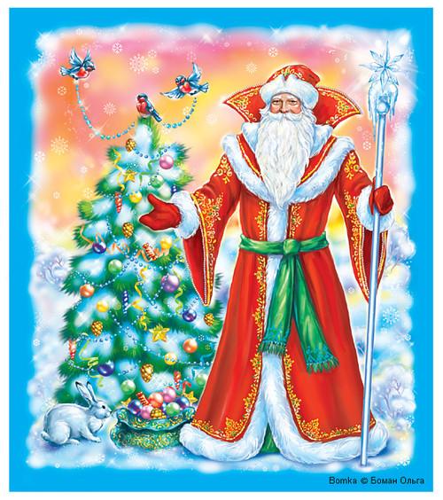 Санта и три его сисястые снегурочки 5 фотография