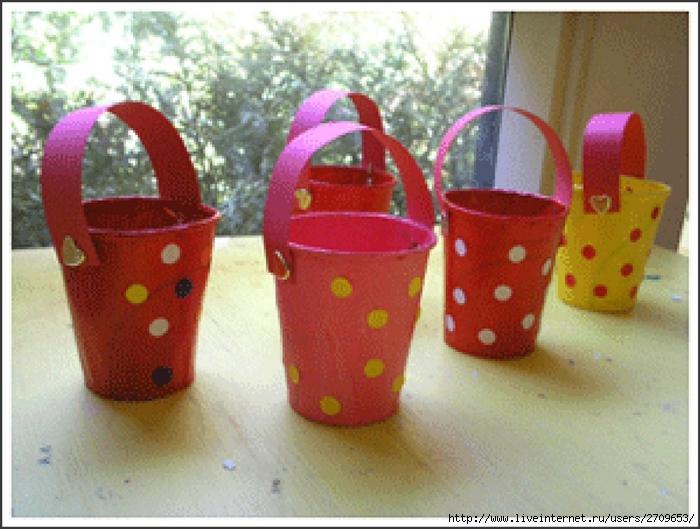 Поделки с детьми из пластиковых стаканчиков своими руками