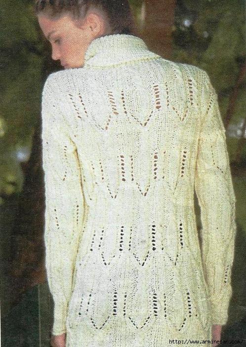 Ажурный-пуловер-выкройка (498x700, 338Kb)