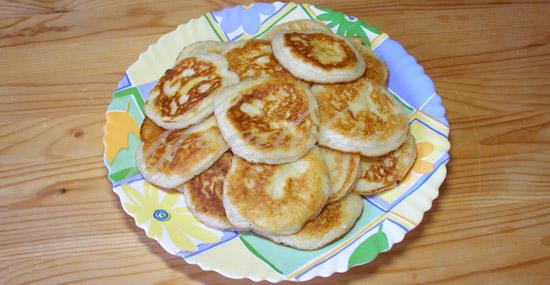Сырники из 250 гр творога рецепт пошагово