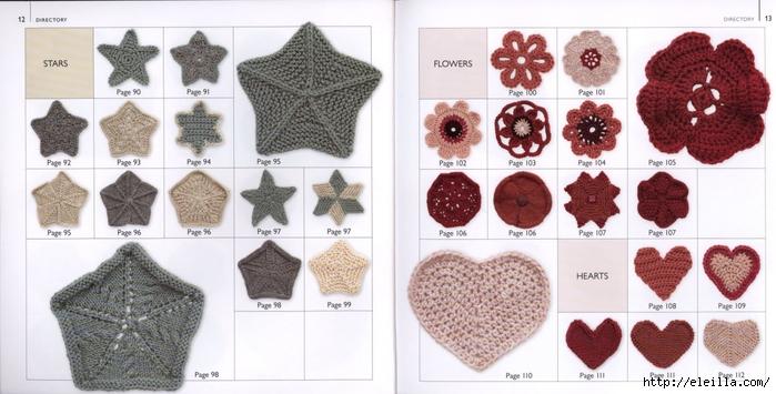 150 Knit & Crochet Motifs_H.Lodinsky_Pagina 12-13 (700x355, 202Kb)