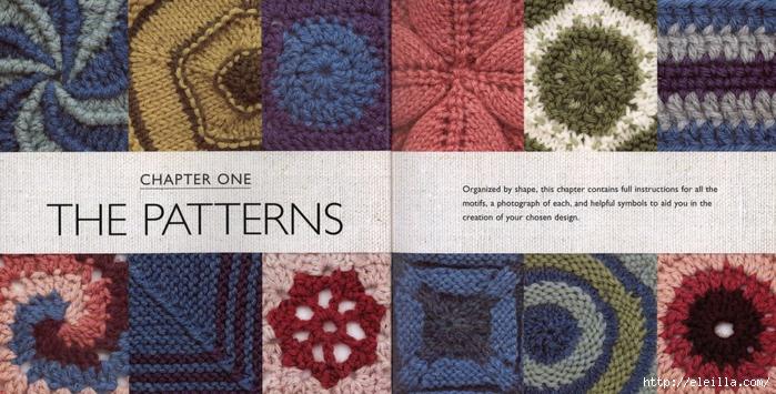 150 Knit & Crochet Motifs_H.Lodinsky_Pagina 16-17 (700x355, 275Kb)