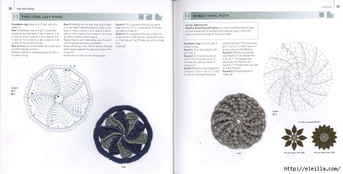 150 Knit & Crochet Motifs_H.Lodinsky_Pagina 28-29 (700x355, 152Kb)