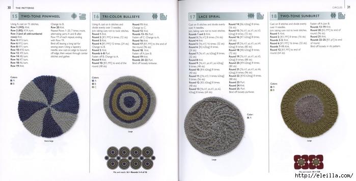 150 Knit & Crochet Motifs_H.Lodinsky_Pagina 30-31 (700x355, 162Kb)