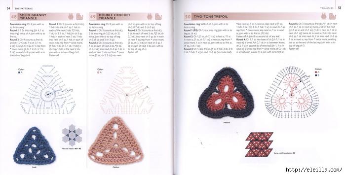 150 Knit & Crochet Motifs_H.Lodinsky_Pagina 54-55 (700x355, 157Kb)