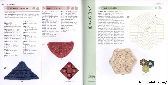 150 Knit & Crochet Motifs_H.Lodinsky_Pagina 60-61 (700x355, 171Kb)