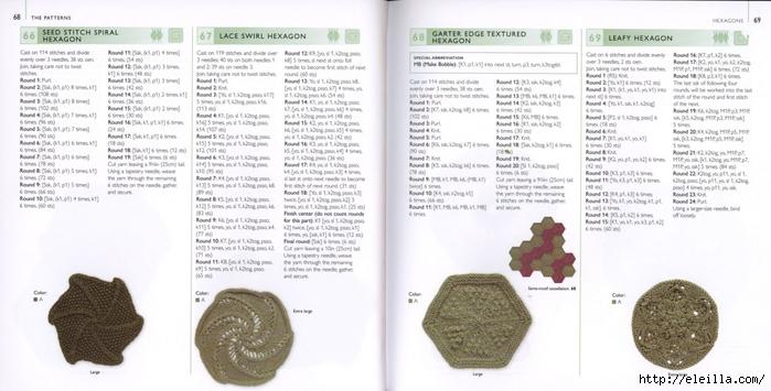 150 Knit & Crochet Motifs_H.Lodinsky_Pagina 68-69 (700x355, 179Kb)