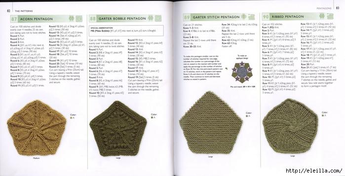 150 Knit & Crochet Motifs_H.Lodinsky_Pagina 82-83 (700x357, 181Kb)
