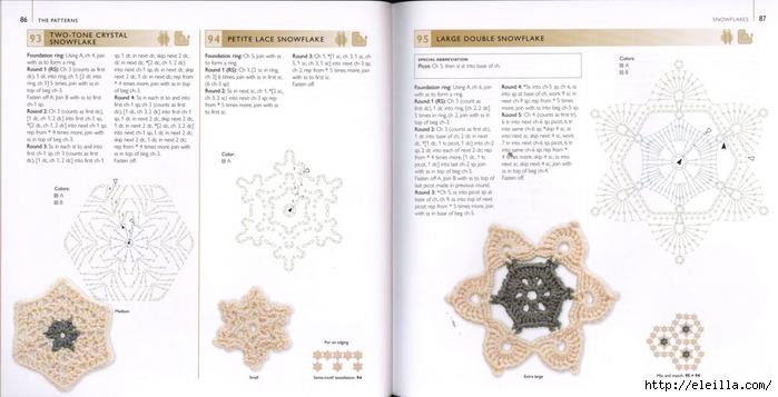 150 Knit & Crochet Motifs_H.Lodinsky_Pagina 86-87 (700x357, 159Kb)