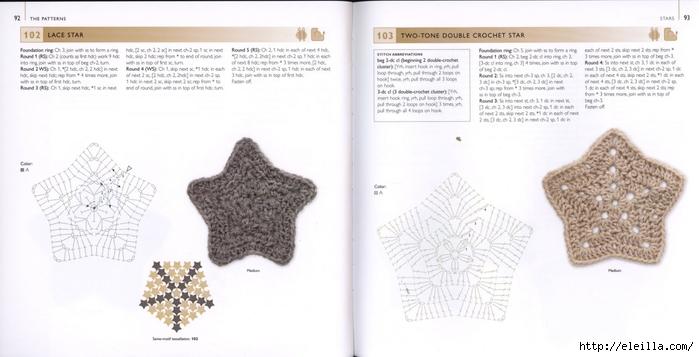 150 Knit & Crochet Motifs_H.Lodinsky_Pagina 92-93 (700x357, 146Kb)