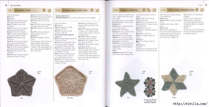 150 Knit & Crochet Motifs_H.Lodinsky_Pagina 96-97 (700x357, 164Kb)